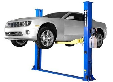 Hoisted Car - Idaho Falls Auto Repair