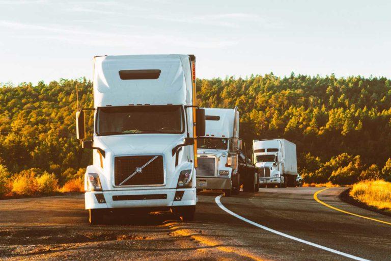 White Volvo Semi Trucks - idaho falls auto repair